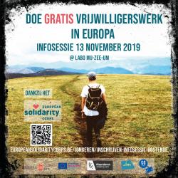 Infosessie Vrijwilligerswerk in Europa