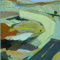 LABO Volwassenen : Een geabstraheerd landschap met acrylverf