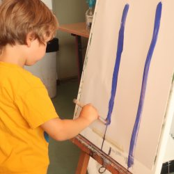 LABO 4-5 jarigen: Schilderen op doek