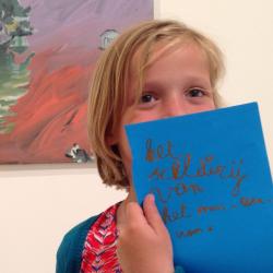 LABO 6-9 jarigen: Het geheimzinnige kunstwerk
