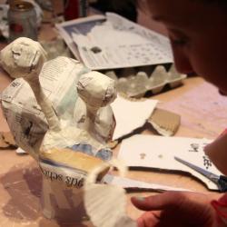 LABO 4-5 jarigen : Feeërieke gips-sculpturen