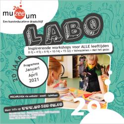 Nieuwe LABO-brochure januari - april 2021
