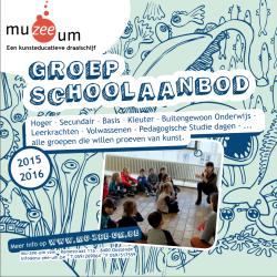 Nieuwe GROEP-brochure Schooljaar 2015-2016