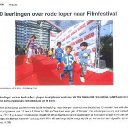 6.000 leerlingen over rode loper naar Filmfestival (2014)