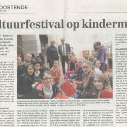 Cultuurfestival op kindermaat (2014)