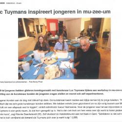 Luc Tuymans inspireert jongeren in mu-zee-um