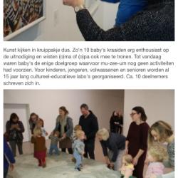 IN BEELD: 10 baby's palmen Mu.ZEE in Oostende in met mu-zee-um