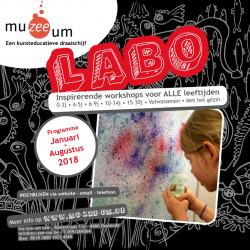 De Nieuwe LABO-brochure Januari - Augustus 2018 IS ER !